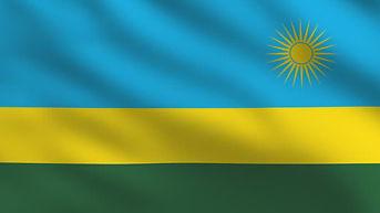 Rwanda flag by EIG