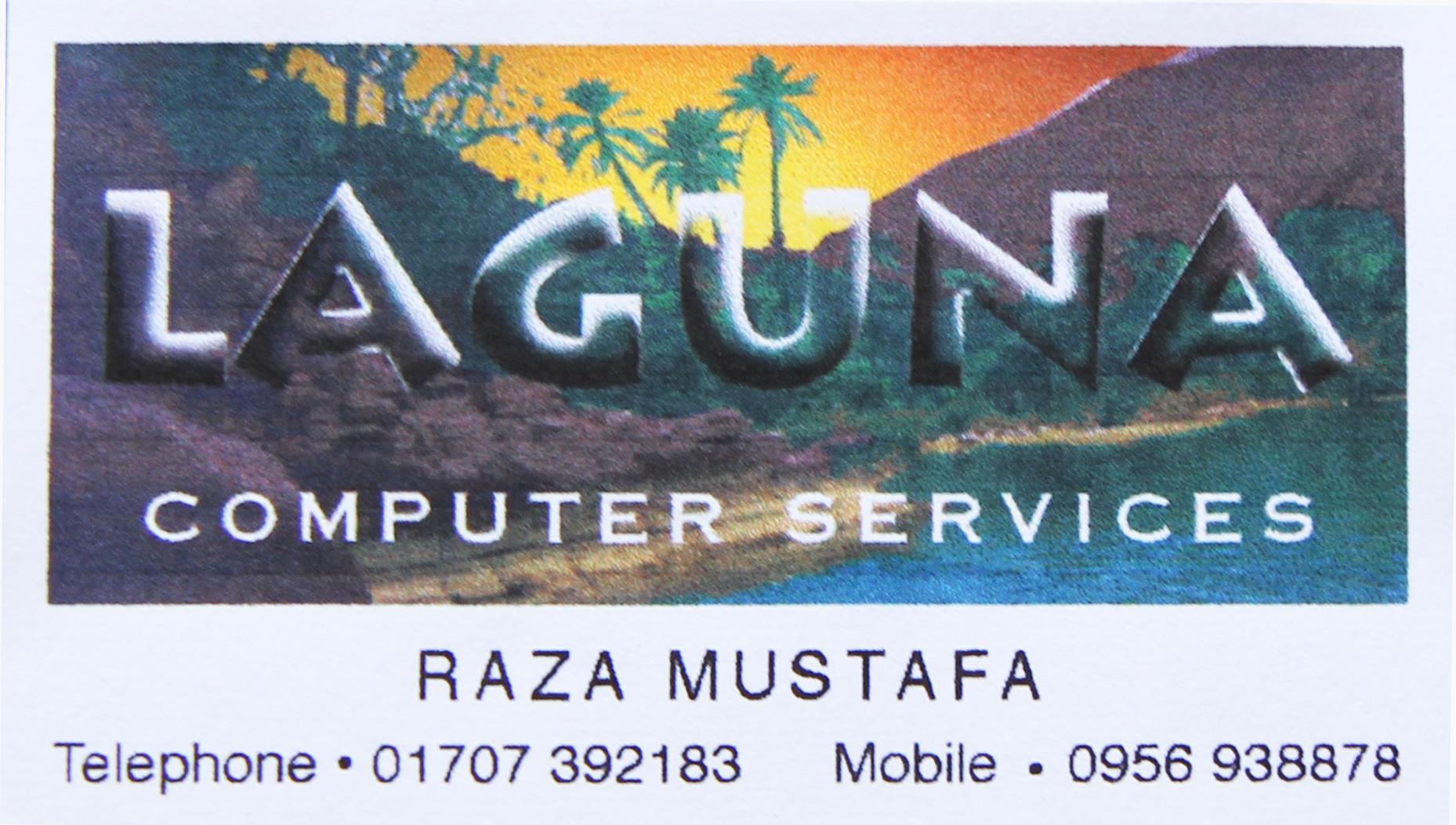 Laguna Computer Services biz card