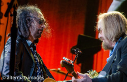 Tom Petty and Mike Campbell