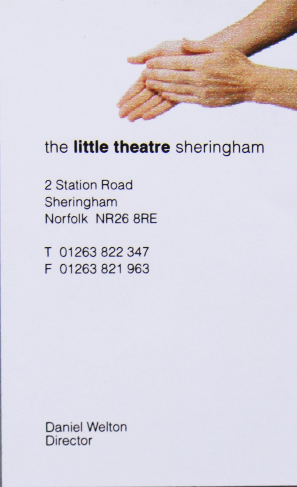 Little Theatre biz card