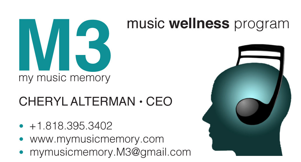 M3 My Music Memory biz card