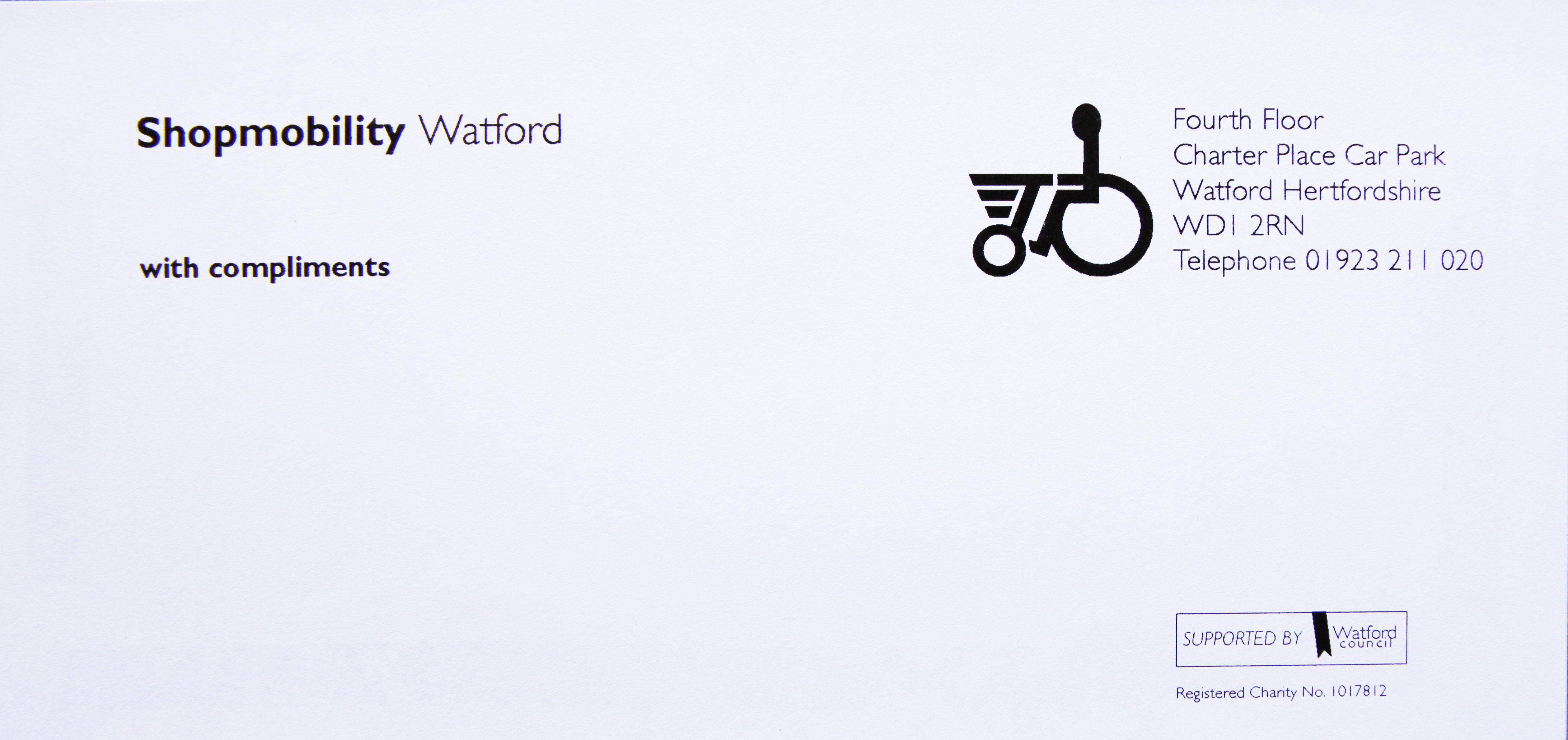 Shopmobility Watford Logo Design