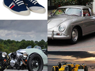 The perfect shoe for classic sports car driving