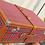 Thumbnail: Custom Red Tartan Hard Suitcase - Ideal for Morgan