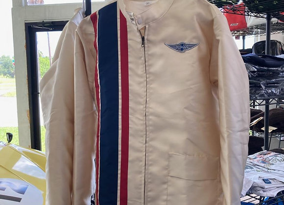 Retro 60's Stripe Racing Jacket
