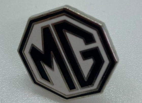 MG Octagon Pin - Black