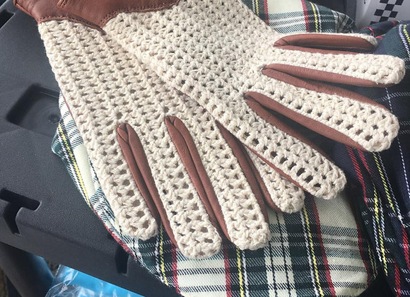 String Back Driving Gloves
