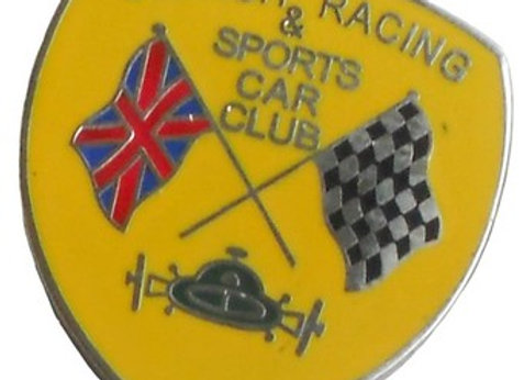 British Racing & Sports Car Club Pin