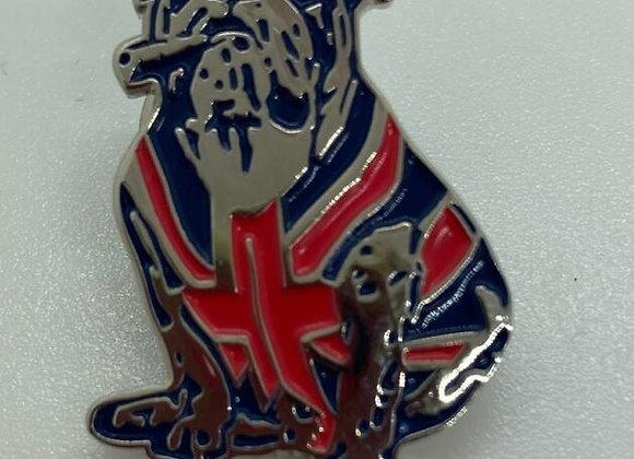 Union Jack GB Bully Lapel Pin