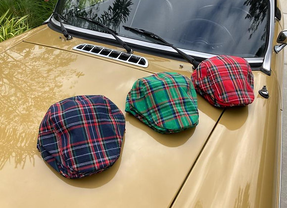 Stewart Clan Tartan Flat Caps