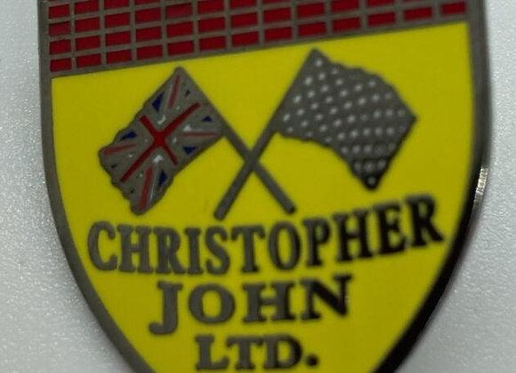Christopher John LTD Crest Lapel Pin