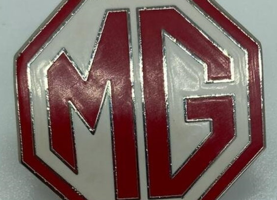 MG Octagon Pin - Red