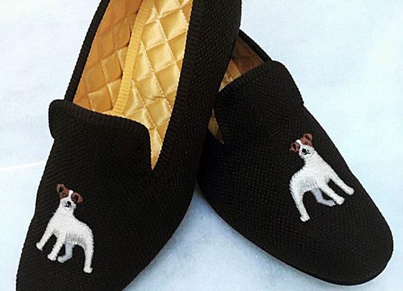 Jack Russel Handmade Slippers