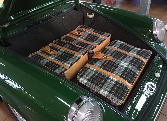 Porsche Custom Fit Luggage
