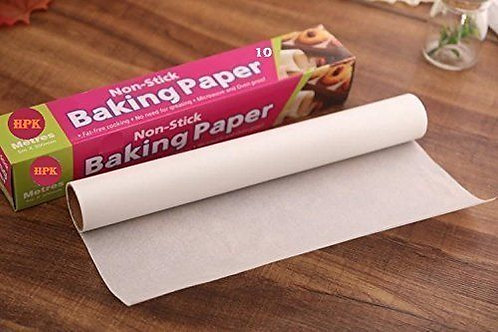 HPK Nonstick baking butter-Parchment Paper sheet roll 10 meters