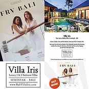 Bali Villa Iris FRV BALI Ad