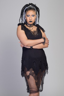 Black Pixie Dress