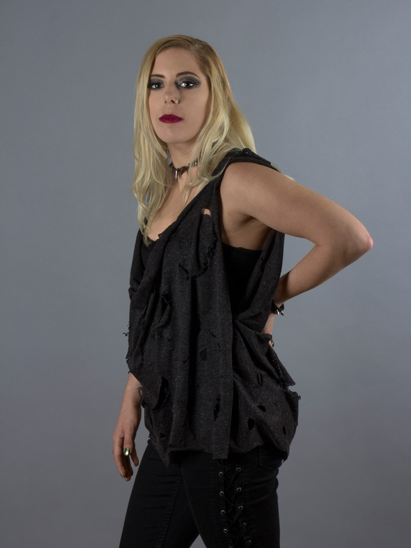 Destroyed Tank Top