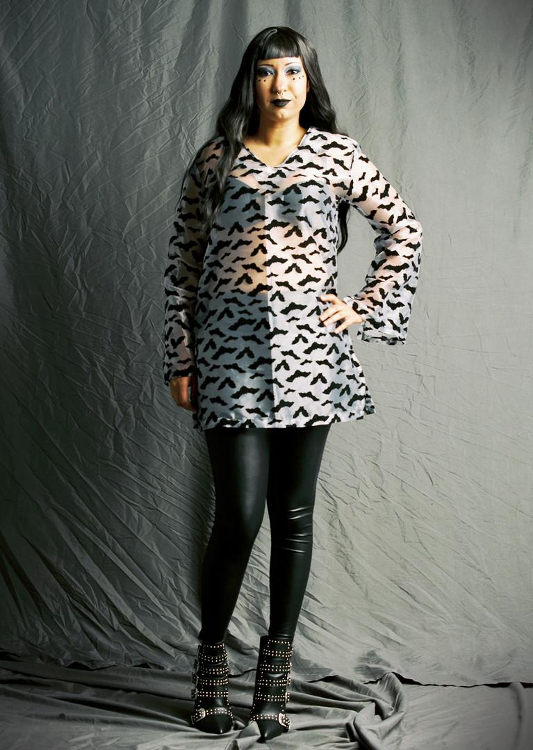 Bat Tunic Dress