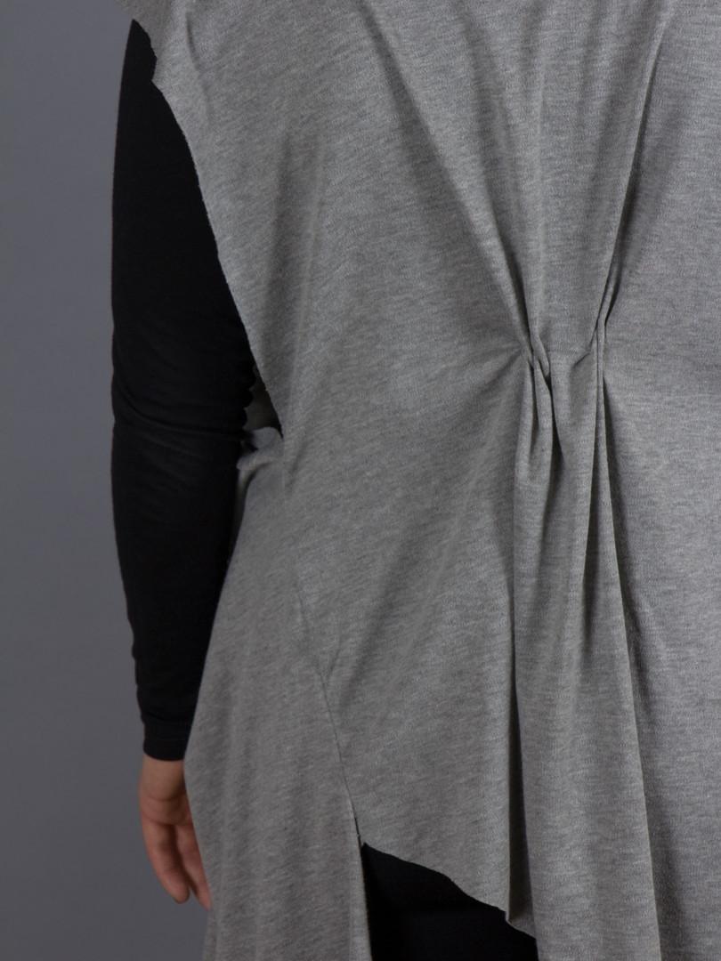 Gray Angle Tunic