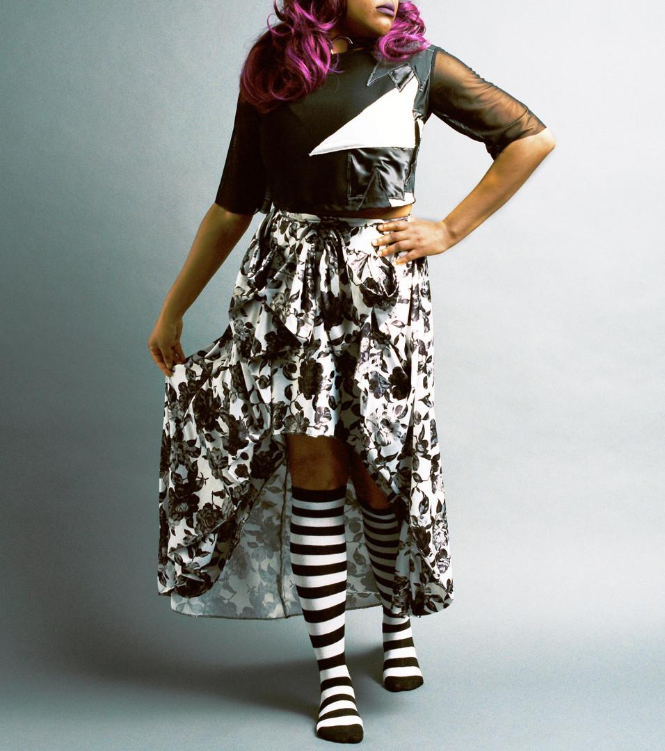 Decadent Roses Skirt