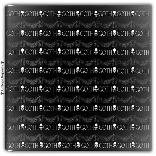 The Goth Gift Wrapping Paper