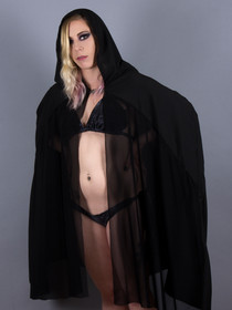 Black Cape Cover-Up
