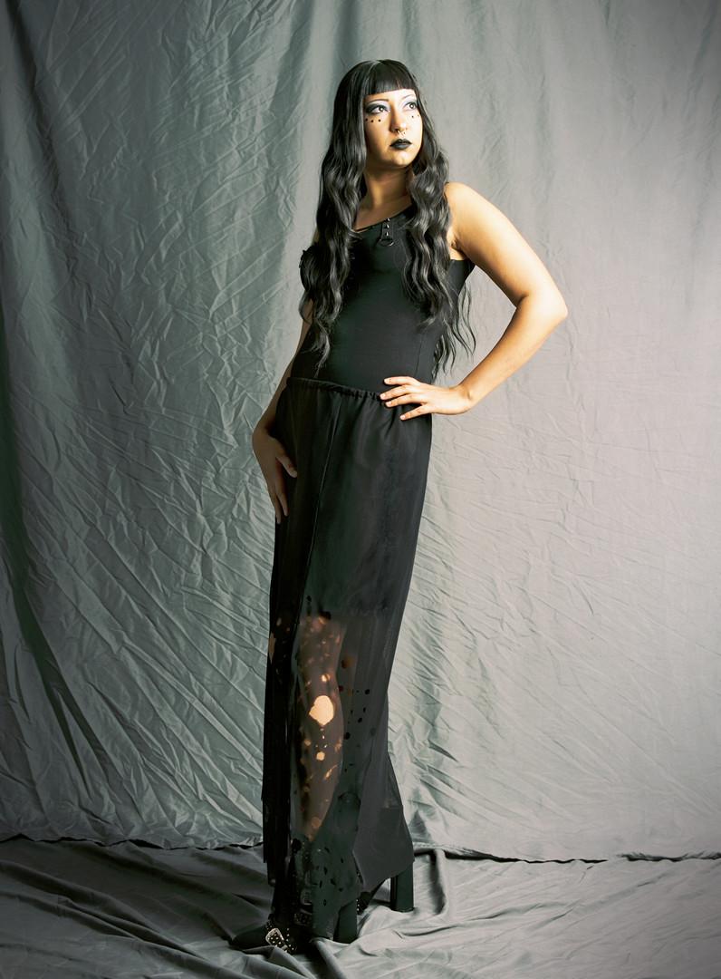 Decaying Black Skirt