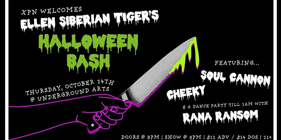 XPN Welcomes: Ellen Siberian Tiger's Halloween Bash