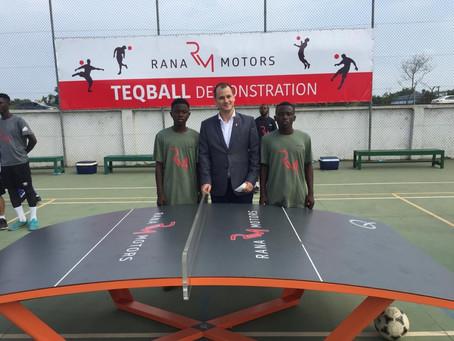 Asante Akyem Teqball team wins maiden edition of Teqball tournament