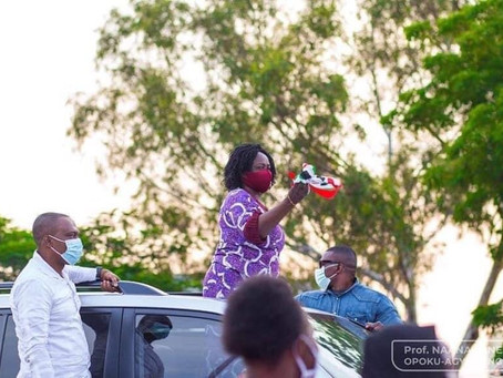 Prof Opoku-Agyemang begins 10-day campaign tour in 5 Regions