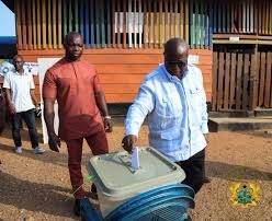 No Complecency, Step out and Vote - President Akufo-Addo tells People of Twifo Praso
