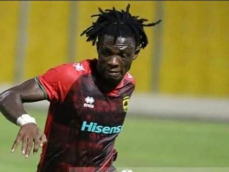 Adomako to lead Kotoko attackers to face Inter Allies