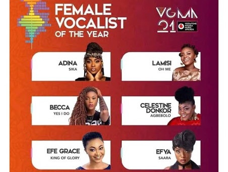 21st Vodafone Ghana music Awards, VGMA, begins tomorrow
