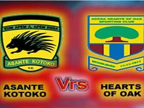 Covid-19: No spectators for Kotoko-Hearts game on Sunday