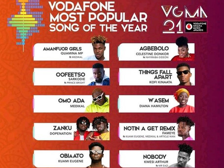 2020 VGMA: See all the nominees for the Ghana Music Awards