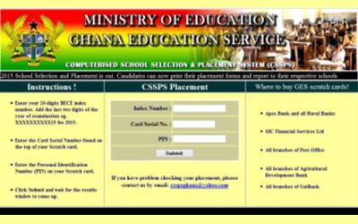 GES to begin Education on school selection procedure