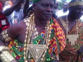 Assist Budumburan to Arrest Worsening Security Situation - Gomoa Chief to President Akufo-Addo