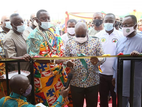 President Akufo-Addo Commissions 75 Greenhouses to Boost Local Vegetable Farming