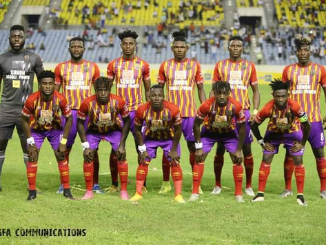 Hearts get an automatic qualification in the CAF Champions league Money Zone.