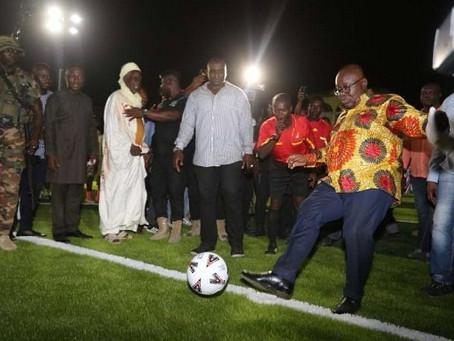 Plans underway to resume Football - President Akufo Addo