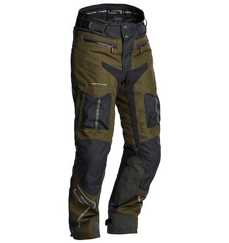 Lindstrands Oman Textile Trousers Black/Kiwi