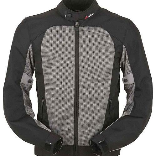 Furygan Genesis Mistral Evo Air-Mesh Textile Jacket Black/Grey