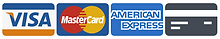 Major Credit/Debit Cards Accepted