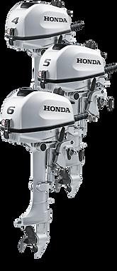 Honda 4/5/6 HP outboard