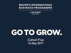 Go to Grow: Cohort Five of The Mayor's International Business Programme