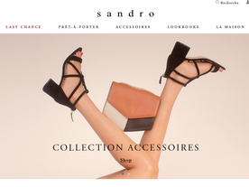 Sandro Women's Summer 2017 Accessories Collection