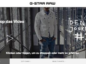 G-Star x Zalando