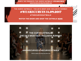 SimplyBe's Curve Catwalk
