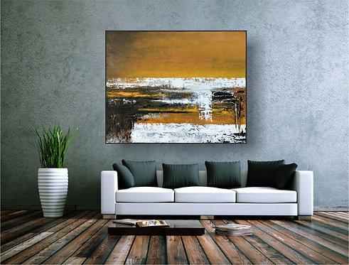 """Acryl Gemälde 100x80cm """"ARISE"""" Acrylbild Abstrakt, Modern"""